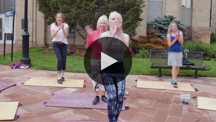 Watch Boulder, Colorado Tap-Dance Flash Mob Pearl Street Mall