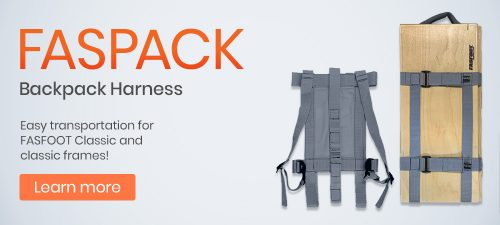 FASPACK Backpack Harness Coming Soon