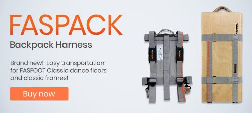 Buy FASPACK Backpack Harness for FASFOOT Portable Dance Floors
